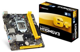 H110MGV3 INTEL Socket 1151 gaming motherboard