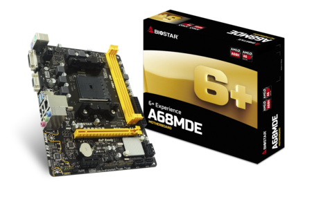 A68MDE AMD Socket FM2+ gaming motherboard