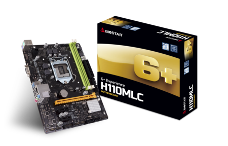 H110MLC INTEL Socket 1151 gaming motherboard