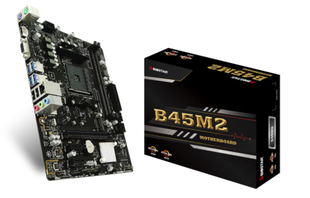 B45M2 motherboard for gaming