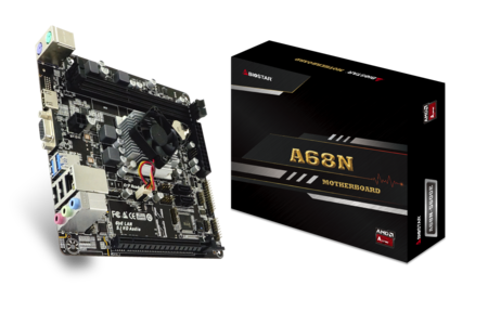 A68N-5600E motherboard for gaming