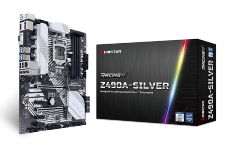 Z490A-SILVER motherboard for gaming