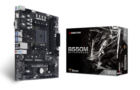 B550MH motherboard for gaming