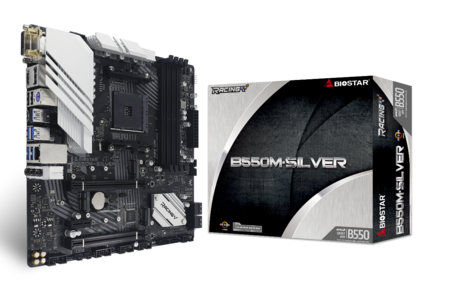 B550M-SILVER motherboard for gaming