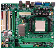 NF61S Micro AM2 SE NVIDIA GeForce 6100 gaming motherboard