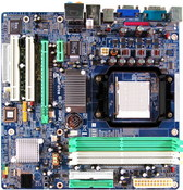 GeForce 6100 AM2 NVIDIA GeForce 6100 gaming motherboard