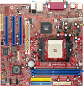 K8VGA-M VIA K8M800 gaming motherboard