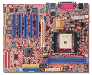 K8VHA Pro VIA K8T800 gaming motherboard