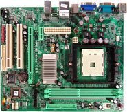 NF61S Micro 754 NVIDIA GeForce 6100 gaming motherboard