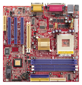M7VIG Pro VIA KM266 gaming motherboard