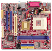M7VIG-D VIA KM266 gaming motherboard