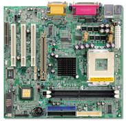 M7VIQ VIA KM266 gaming motherboard