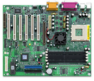 M7VIB VIA KT266 gaming motherboard