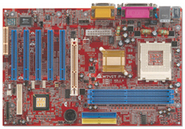 M7VIT Pro VIA KT400 gaming motherboard