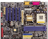 M7VIK VIA KT400 gaming motherboard