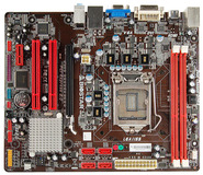 H61MU3 Intel H61 gaming motherboard