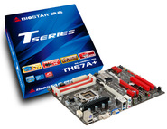 TH67A+ Intel H67 gaming motherboard