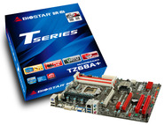 TZ68A+ Intel Z68 gaming motherboard