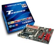 TZ68K+ Intel Z68 gaming motherboard