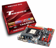 TA55MU3 AMD A55 gaming motherboard