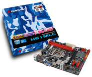 H61MLC Intel H61 gaming motherboard