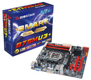 B75MU3+ Intel B75 gaming motherboard
