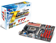 T77 Intel H77 gaming motherboard