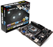 Hi-Fi B75S3E Intel B75 gaming motherboard