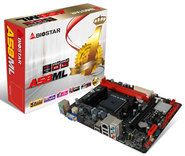 A58ML AMD A55 gaming motherboard