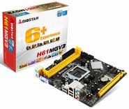 H61MGV3 Intel H61 gaming motherboard