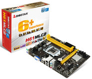 H61MLC2 Intel H61 gaming motherboard