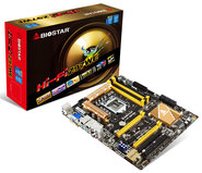 Hi-Fi Z97WE Intel Z97 gaming motherboard
