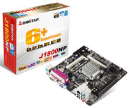 J1800NP INTEL CPU onboard gaming motherboard