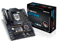 GAMING Z170W Intel Z170 gaming motherboard