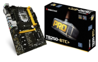 TB250-BTC+ Intel B250 gaming motherboard