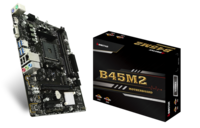 B45M2 AMD B350 gaming motherboard