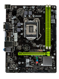 H110MV-Q7 Intel H110 gaming motherboard