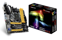 B350GTX AMD B350 gaming motherboard