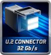 PCIe U.2 Connector