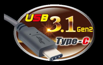 USB 3.1 Gen 2 Type-C