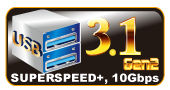 USB 3.1 Gen 2 Type-A