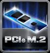 PCIe M.2 (10Gb/s)
